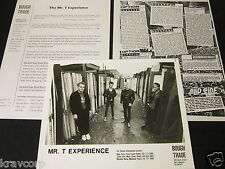 THE MR. T EXPERIENCE 'BIG BLACK BUGS BLEED BLUE BLOOD' 1989 PRESS KIT--PHOTO