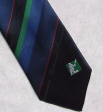 BRITANNIC ASSURANCE TIE CRICKET VINTAGE RETRO BY TIE RACK 1980s 1990s STRIPED