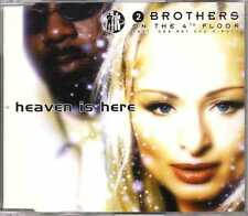 2 Brothers On The 4th Floor - Heaven Is Here - CDM - 1999 - Eurodance Des'Ray