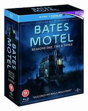 Bates Motel Seasons 1-3 Blu-Ray Box Set BRAND NEW Free Ship