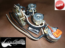 "PER FENDER STRATOCASTER CABLAGGIO HI QUALITY CON  ""KILLSWITCH BUTTON """