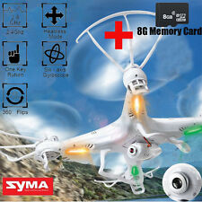 SYMA X5C-1 2.4G RC Drone Quadcopter 6-Axis 4CH 2MP HD Camera White RTF Explorer
