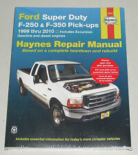 Reparaturanleitung Ford F-250 / F-350 Super Duty Pick Up, Baujahre 1999-2010