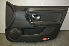 RENAULT LAGUNA MK3 2008 - 2012 DRIVERS SIDE FRONT DOOR CARD DYNAMIQUE  TOM TOM