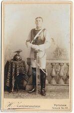 Top Portrait foto Gardes du Corps Elite Berlino NERO CASCO kürass PALLASCH