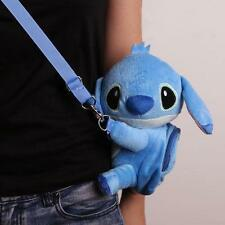 Hot Disney Lilo & Stitch Crossbody Hand BagTote plush toy messenger Purse  bag