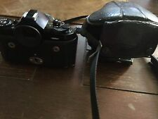 Vintage Canon A-1 1955501 with Snap-on Leather Case