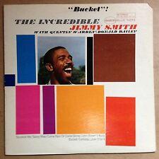 Jimmy Smith-Bucket-ORIG 1966 Blue Note Stereo-NY USA-Van Gelder-VG+/VG++ JAZZ