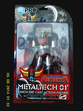 "HL PRO DYNAMIC METALTECH 01 DIE CAST 6"" UFO ROBOT GRENDIZER ACTION FIGURE!"