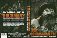 Duck Commander 10 Commandments for Succcessful Hunting Duck Dynasty DVD NEW