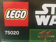 LEGO 75020 Star Wars Jabbas Sail Barge  Ages 9-14 Years 850 Pieces NISB RETIRED!