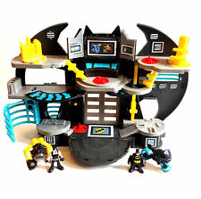 Fisher Price Imaginext Pre Scuola Batman Bat-Caverna BATBIKE + Bane Toy Figure Set