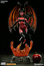 Sideshow Dynamite Chaos! Universe Lucifer The Purgatori Statue MISB In Stock