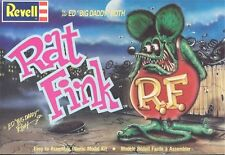 1960s REVELL Big Daddy Roth's Rat Fink model box replica magnet - new!