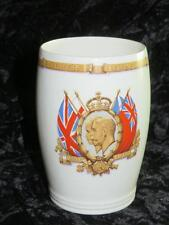NEW HALL Commemorative Beaker King George V Queen Mary Silver Jubilee 1935
