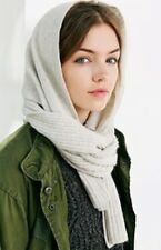 NEW Anthropologie Coal Headwear Considered Collection The Woods Hooded Scarf