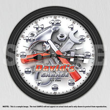 Garage Tools - Man Cave - Personalized Decorative Wall Clock - Tool Man