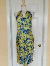 EVAN PICONE floral ruffle dress size 10 new $99 from Macys Easter dress