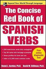 Big Book Ser.: The Concise Red Book of Spanish Verbs by Ronni Gordon and...