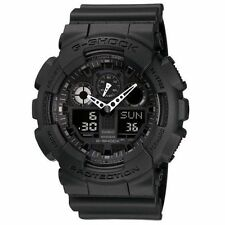 Casio G-Shock Mens Watch GA100-1A1 Black Watch