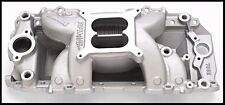 Edelbrock 7562 Performer RPM Air Gap Intake Manifold BBC Chevy Rect Port #7562