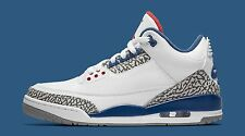 Nike Air Jordan 3 III Retro True Blue  SZ 11 White Cement True Blue 854262-106