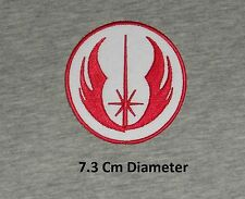 "STAR WARS ""JEDI ORDER"" Uniform Iron-on Logo - Embroidered Patch/ Badge"