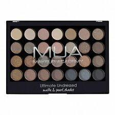 MUA Makeup Academy Ultimate Undressed Eyeshadow Palette 28 Shades Matte Shimmer
