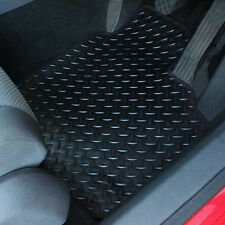 Subaru XV 2012+ MK 4 Fully Tailored 4 Piece Rubber Car Mat Set 2 Ring Clips