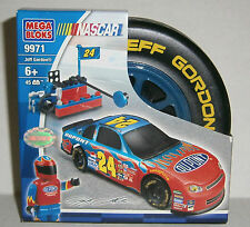 Jeff Gordon #24 Dupont - 45 pcs NASCAR Racing Mega Bloks Set #9971 - NEW
