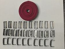 Flat Cable 14 Pins Wires IDC Ribbon 2.54mm pitch 12ft cable & 10 sets connectors