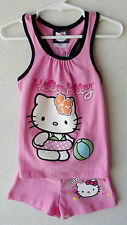Hello Kitty Sparkled Pink Shorts Set (Mix or Match) Girls size 4 NWT G82290
