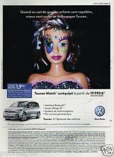 Publicité advertising 2012 VW Volkswagen Touran Match