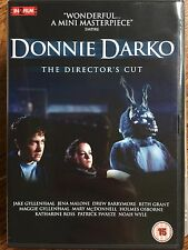Jake Gyllenhaal Patrick Swayze DONNIE DARKO ~ Cult Classic Director's Cut UK DVD