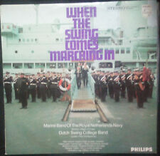 MARINE BAND OF THE ROYAL NETHERLANDS NAVY - WHEN THE SWING COMES.... VINYL LP