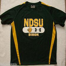 EUC Under Armour Men's NDSU Bison Shirt Top Loose Heat Gear Small S