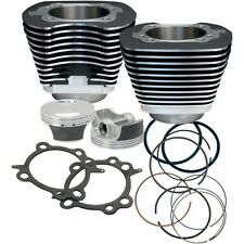 "S&S Cycle 106"" Big Bore Engine Pistons Cylinders Kit Harley Softail Dyna Touring"