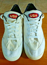 Vtg 1996 Nike Gts Usa Olympic Edition Flag Canvas 640025-143 Sneakers Shoes 12