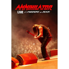 Annihilator-Live at Masters of Rock  CD with DVD NEW