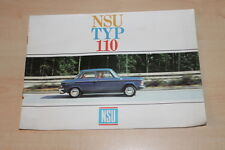 72761) NSU Typ 110 Prospekt 196?