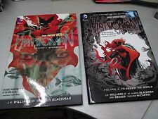 BATWOMAN the new 52! volume #1 and #2 DC Comics hardcover near mint, in inglese!