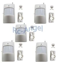 5x Wireless PIR Motion Sensor Detector For Home Security Alarm System 433MHZ