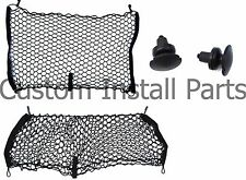 Jeep Compass Patriot 2007-Present Envelope Style Rear Seat Cargo Net Set of 2