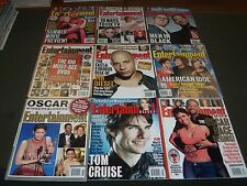 2002 ENTERTAINMENT WEEKLY MAGAZINE LOT OF 24 - GREAT STAR COVERS - O 958