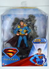 TRI-LINGUAL CARD INVULNERABLE SUPERMAN Returns Action Figure Rare Canadian MIB