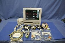 SPACELABS 94000 MOM COLOR PORTABLE FETAL MONITOR COMPLETE WITH MERMAID WIRELESS