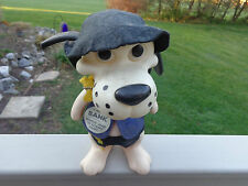 Promotional Vintage Security Pacific Deputy Hound Dog Character Coin Bank