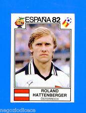 SPAGNA ESPANA '82 -Panini-Figurina-Sticker n. 136 - HATTENBERGER - AUSTRIA -Rec