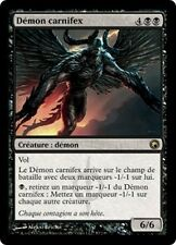MTG Magic SOM FOIL - Carnifex Demon/Démon carnifex, French/FR