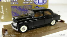 Brumm 1/43 Scale R165 Fiat 1400B HP58 1956-58 Black Diecast Model Car